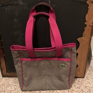 Lacoste Croc of Wales Tote